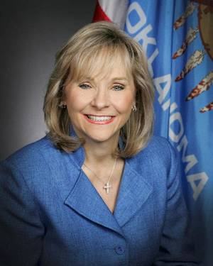 Photo - Oklahoma Gov. Mary Fallin <strong> - provided</strong>