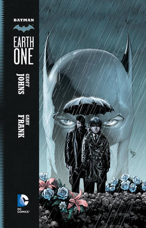 "Photo - The cover to ""Batman: Earth One."" DC Comics. <strong></strong>"