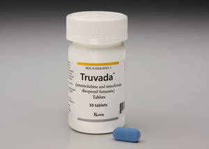 Photo -   This photo provided by Gilead Sciences shows Truvada. A panel of federal health advisers votes today, Thursday, May 10, 2012, on whether to endorse the first drug shown to prevent HIV infection, potentially clearing the way for a landmark approval in the 30-year effort against the virus that causes AIDS. The Food and Drug Administration advisers will vote on whether Truvada should be approved as a preventative treatment for people who are at high risk of contracting HIV, such as gay and bisexual men. (AP Photo/Gilead Sciences)