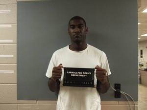 photo - Oklahoma State receiver Justin Blackmon was arrested early Tuesday morning on a DUI complaint. PHOTO COURTESY CARROLLTON POLICE DEPARTMENT