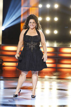 "Marissa Jaret  Winokur hosts ""Dance Your A-- Off,"" which debuts at 9 tonight.Oxygen media photo"