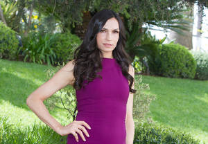 "Photo - Dutch actress Famke Janssen of the TV series ""Hemlock Grove.""AP Photo"