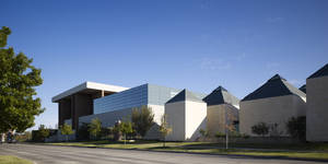 Photo - The 54,570-square-foot, $13 million Stuart Wing and Adkins Gallery at the University of Oklahoma's Fred Jones Jr. Museum of Art in Norman. PHOTO PROVIDED BY ELLIOTT + ASSOCIATES