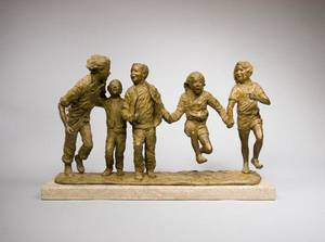 "Photo - On display through June 30 at JRB Art at The Elms is ""Jump for Joy,"" a sculpture by Glenna Goodacre. <strong>Matt Suhre Photography</strong>"