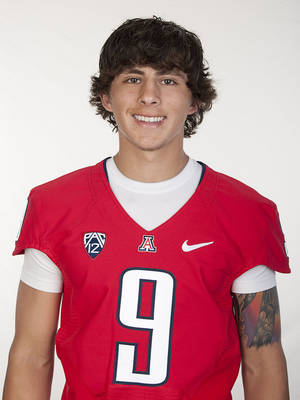 Photo - Former Jones quarterback Daxx Garman will transfer to Oklahoma State from Arizona.
