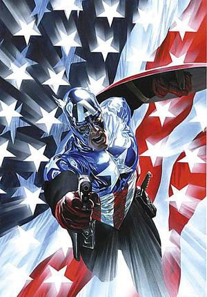 Photo - Captain America's former sidekick, Bucky, took over the role in 2008, making for compelling stories. Marvel Comics