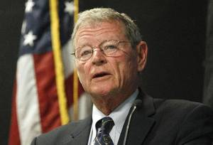 photo - U.S. Sen. Jim Inhofe &lt;strong&gt;&lt;/strong&gt;