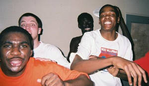 Photo - Ty Lawson, left, and Kevin Durant were both teammates and opponents in high school. Photo provided.