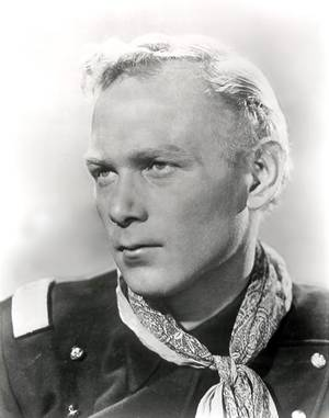 "photo - This 1940s publicity photo released by SCVHistory.com (Santa Clarita Valley Historical Society) shows actor, Harry Carey, Jr., in character from the film, ""She Wore A Yellow Ribbon."" Carey Jr. starred in such Westerns as ""3 Godfathers"" and ""Wagon Master."" His daughter, Melinda Carey, said he died Thursday, Dec. 27, 2012, of natural causes surrounded by friends and family at a hospice facility in Santa Barbara, Calif.  (AP Photo/SCVHistory.com)"