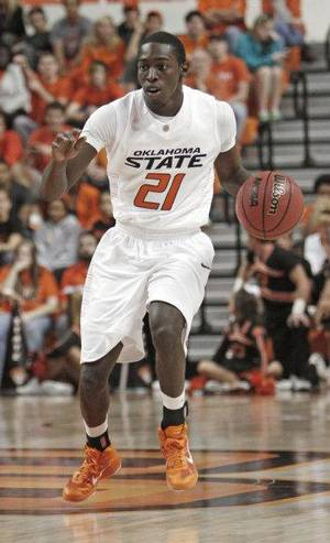 Photo - Fred Gulley is leaving the Oklahoma State basketball team. PHOTO BY DOUG HOKE, The Oklahoman <strong>Doug Hoke</strong>
