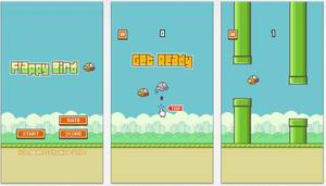 Photo - Images from the Flappy Bird game are shown. Nguyen Ha Dong, the creator of the hit mobile game, has removed it from the App Store and Google Play.  Photo provided by Forbes.com <strong></strong>
