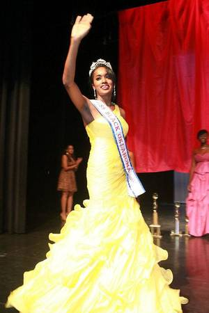 Photo - Darbi Williams, an Oklahoma City University graduate, was crowned the new Miss Black Oklahoma. Photo provided