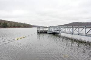 Photo - Brushy Lake (Sequoyah County Times photo)
