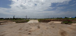 Photo - An empty cul-de-sac is pictured in Oklahoma City, Thursday, Aug8, 2013. Photo by Sarah Phipps, The Oklahoman