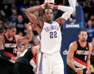 Photo - Thunder forward Jeff Green will become a restricted free agent after the 2010-11 season if an extension deal isn't reached by Oct. 31.  PHOTO BY JOHN CLANTON, THE OKLAHOMAN