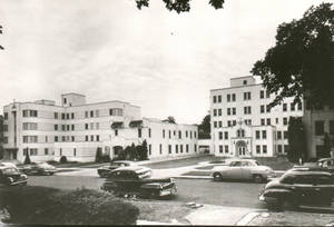 Photo - This vintage photo shows Oklahoma City General Hospital, the medical facility at 520 NW 12 that was purchased by the Sisters of Mercy in 1947. The hospital was renamed Mercy General Hospital. Photo provided by Sisters of Mercy <strong></strong>