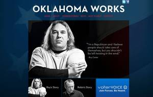 Photo - Roy Carter, who lost his hands at work, is pictured on the website for Oklahoma Works.