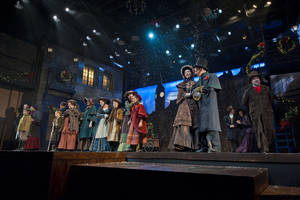 "Photo - Lyric Theatre brings holiday spirit to its 2012 production of ""A Christmas Carol."" The company is performing the Charles Dickens classic again in 2013. Photo by KO Rinearson. <strong></strong>"
