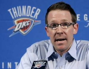 Photo - Sam Presti is seen in this May 3 AP photo.
