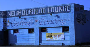 photo - BUILDING EXTERIOR: The Neighborhood Lounge at 733 NW 4th, owned by Larry Jenkins, Monday, March 4, 2013. Photo by Doug Hoke, The Oklahoman