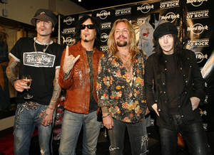 Photo - Motley Crue will perform at this weekend's Rocklahoma near Pryor. PHOTO PROVIDED