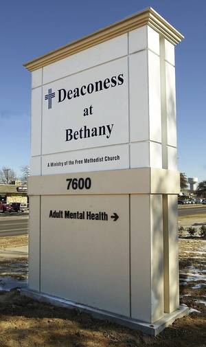 Photo - MOVE, RELOCATION: Deaconess at Bethany - NW 23 between Council and Rockwell - Deaconess finally finished moving into facilities at Bethany Hospital.