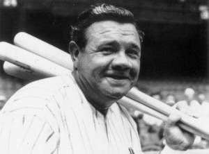 Photo - Babe Ruth   ARCHIVE PHOTO <strong>PROVIDED</strong>