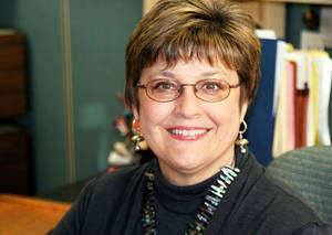 photo - Leslie Gelders has been involved with the fight against illiteracy in a professional and volunteer capacity since 1987. photo provided