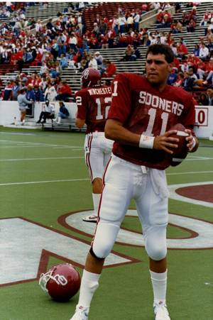 Photo -  Former OU quarterback Glenn Sullivan also played baseball for the Sooners. Photo provided  <strong></strong>