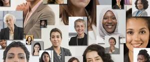 Photo - Collage of women's smiling faces