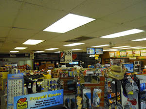 Photo - Inside the Love's Country Store at 3233 SW 89 before its $400,000 facelift. <strong> - provided</strong>