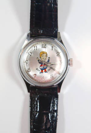 photo - This watch belonging to Dale Wehba was given to him by Buck Owens. Photo By Steve Gooch, The Oklahoman <strong>Steve Gooch - The Oklahoman</strong>