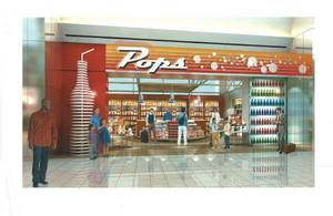 Photo - An artist's rendering of the new POPS concession coming to Will Rogers World Airport. <strong> - PROVIDED</strong>