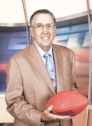 Photo - Brent Musburger will call the Big 12 Championship game Saturday between Oklahoma and Missouri. PHOTO PROVIDED