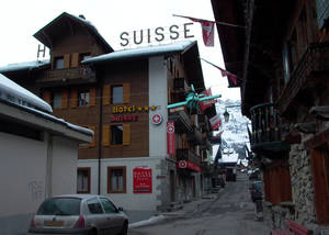 Photo -  Champery, a founding village of Portes du Soleil, is an access point to the world's largest international ski resort between Switzerland and France. Photo courtesy of Athena Lucero.