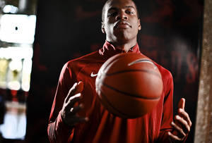 photo - UNIVERSITY OF OKLAHOMA COLLEGE BASKETBALL: Buddy Hield poses for a photo during the OU men's basketball media day on Monday, Oct. 29, 2012, in Norman, Okla. Photo by Chris Landsberger, The Oklahoman