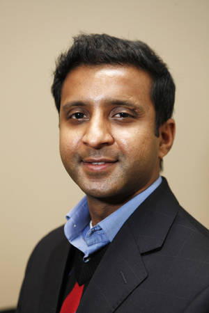 Photo - Rohit Keshava, site manager for DELL in Oklahoma City, Friday, February  13,  2012. Photo By Steve Gooch, The Oklahoman