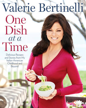"Photo - This undated publicity photo provided by Rodale Books shows the cover of Valerie Bertinelli's book ""One Dish at a Time."" (AP Photo/Rodale Books)"
