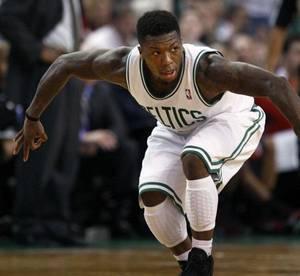 Photo - The Thunder acquired former Boston Celtics guard Nate Robinson in a trade on Thursday. PHOTO BY JIM DAVIS, Courtesy The Boston Globe <strong>Jim Davis/Globe Staff</strong>