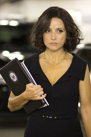 "Photo - Julia Louis-Dreyfus stars in ""Veep,"" premiering at 9 p.m. Sunday on HBO. HBO photo"