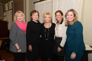 Photo - Katie Price, Karen Luke, Joan Lunden, Ann Cameron, Cindy Batt. Photo by David Faytinger, for The Oklahoman  <strong></strong>