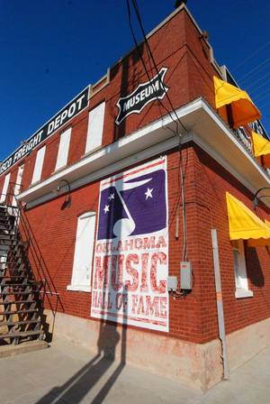 Photo - Oklahoma Music Hall of Fame in Muskogee. Photo provided