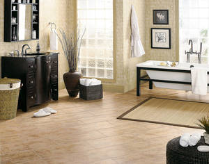 photo - Mannington's Adura line brings the look of wood, tile or stone in a variety of shapes, sizes, textures and installation options.