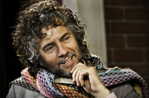 Photo - Flaming Lips front man Wayne Coyne poses for a photo in the OPUBCO Studio on Tuesday, Dec. 15, 2009, in Oklahoma City, Okla  Photo by Chris Landsberger, The Oklahoman