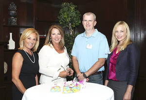Photo - Cyndi Cleary, Patty Anthony, Alan White, Kyla Turner.
