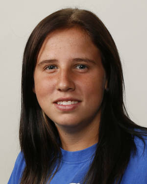 Photo - Ashley Savage, Newcastle softball player, poses for a mug shot during The Oklahoman's Fall High School Sports Photo Day in Oklahoma City, Wednesday, Aug. 15, 2012. Photo by Nate Billings, The Oklahoman