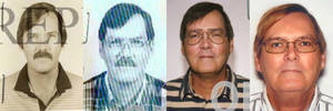 Photo - FILE - This combination of photos provided by the Federal Bureau of Investigation shows William James Vahey in 1986, 1995, 2004 and 2013. Vahey, 64, killed himself in Luverne, Minn. on March 21, 2014. The discovery of Vahey, a man the FBI regards as one of the most prolific pedophiles in memory has set off a crisis in the community of international schools, where parents are being told that their children may have been victims, and administrators are scurrying to close loopholes exposed by Vahey's abuses. (AP Photo/FBI, File)