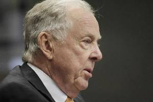 Photo - T. Boone Pickens is seen in this August 2012 photo by Doug Hoke.