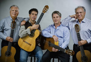 Photo - The Romeros Quartet.  PHOTO CREDIT:  Mark Johnson, Ironstring, Writing & Photography  <strong></strong>