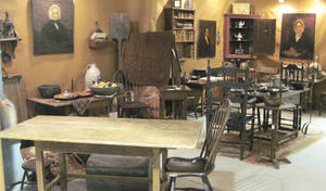 Photo - The people of Harper Antiques from Pasadena, Texas, shop in New England to maintain their collection and inventory. At the Winter Antiques Show in Round Top, Texas, they will have antiques that have never before been offered in the Texas market. PHOTO PROVIDED